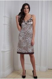 LAETE Ночная сорочка с леопардовым принтом 60158
