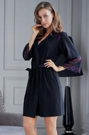 Короткий халат Mia Amore Роберта 1253