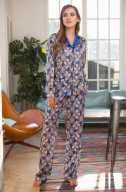 "17556 пижама с брюками mia-mia ""melania"""