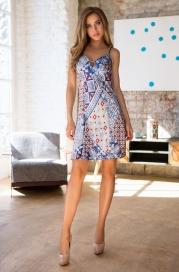 """17560 mia-mia платье домашнее женское """"sophi"""""""