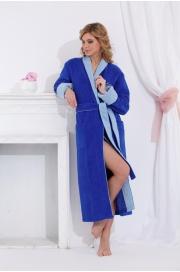 Удлиненный махровый халат из бамбука Lady Éva (PM 717)