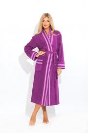 Стильный махровый халат Viva (PM 720)