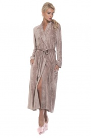 Шикарный велюровый халат Unique (PM 399)