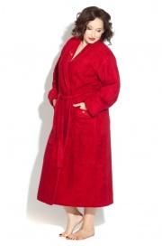 Длинный махровый халат из бамбука LILY (PM 725)