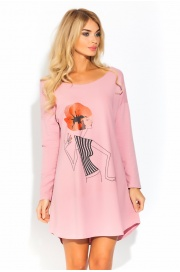 Домашняя туника - сорочка из натурального хлопка Modern Lady