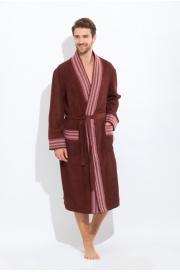 Стильный махровый халат COSMOS PM 917)