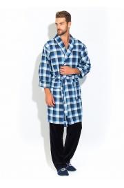 Стильный комплект - легкий халат и брюки Première №32 (PM 2109/1
