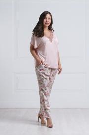 LAETE Женская пижама из вискозы с цветочным принтом 51602