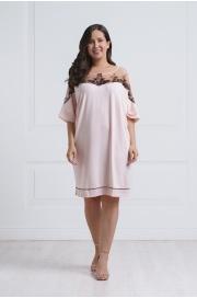 51607 Туника женская с кружевным декором - WINTER 2017-2018