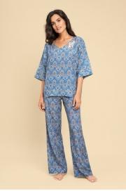 LAETE Женская пижама из вискозы с орнаментом 61350
