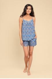 LAETE Женская пижама с шортами из вискозы 61349-1