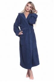 Махровый халат с капюшоном Sport&Life (Е 901)