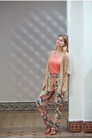 Костюм-тройка. Кардиган, брюки и топ Miss Loren (E 1507)