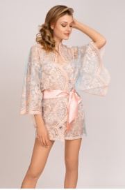 LAETE Кимоно 54083-18 (Бирюзово-розовый)