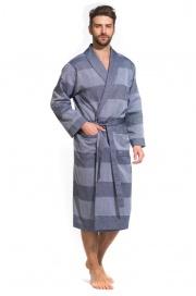 Легкий мужской халат из органического хлопка Pur Organique (PM F