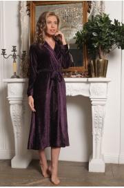 Велюровый халат из бамбука Antoinette (EFW)