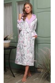 Махровый халат с капюшоном Garden (EFW)