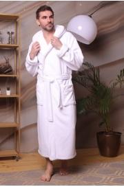 Махровый халат с капюшоном Zevs (EFW)