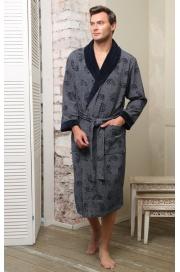 Облегченный махровый халат из бамбука Garcia (EFW)