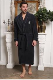 Мужской халат из микрокоттона Luxor (EFW)