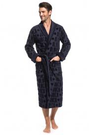 Стильный махровый халат Black Jack (PM France 937)