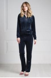 Куртка велюровая тёмно-синий (20269-1-V) Laete