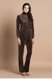 Куртка велюровая коричневый (20311-2-V) Laete