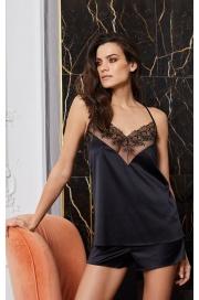 Шорты пижамные чёрный (60522) Laete