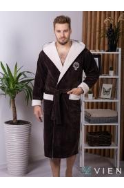 Махровый халат из бамбука Lucas (EFW)