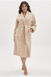 Махровый халат из micro-cottona высокой плотности Wanted (PM 95