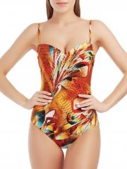 Marc & André Слитный купальник со встроенным «пуш-ап», цветной