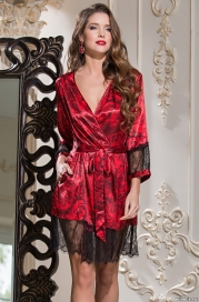Короткий халат Mia-Amore 3163 CARMEN (70% шелк)