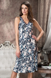 Длинная сорочка Mia-Amore 5968 EMILIA (70% шелк)