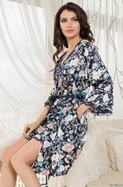 Короткий халат Mia-Amore EMILIA (70% шелк)