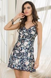 Короткая сорочка Mia-Amore 5960 EMILIA (70% шелк)