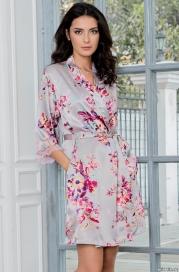Короткий халат–кимоно Mia-Amore 3133 GRACE (70% шелк)