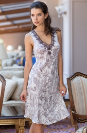 Длинная сорочка Mia-Amore 3088 EVITA (70% шелк)