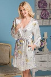 Короткий халат Mia-Amore 5993 LILIANNA (70% шелк)