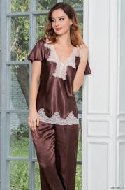 Женская пижама Mia Amore MARILIN (70% нат.шелк)