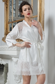 Короткий халат – кимоно Mia-Amore 8043 PRINCESS