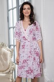 Короткий халат Mia-Mella 6443 SAKURA