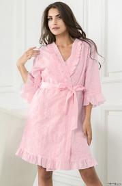 Короткий халат-кимоно Mia-Mella 6043 CAROLINA