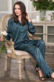 Комплект: рубашка и брюки VALENSIA 3266 (70% шелк)