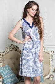 Стильная сорочка NICOLE 6544