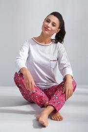 Яркая женская пижама Luna 587