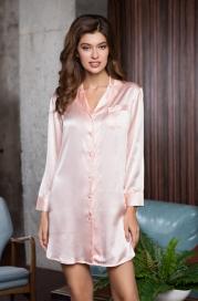 """Рубашка домашняя Mia-Mia """"Rosemary"""" 15146 (нат.шелк)"""