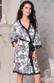 Короткий халат Mia-Mella 8163 PAULINA