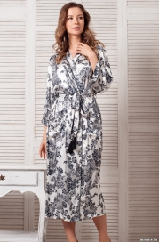 Длинный халат Mia-Mella 8169 PAULINA