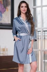 Короткий халат Mia-Amore 8173 ELIZA