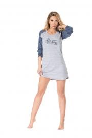 Сорочка женская с длинным рукавом Rossli